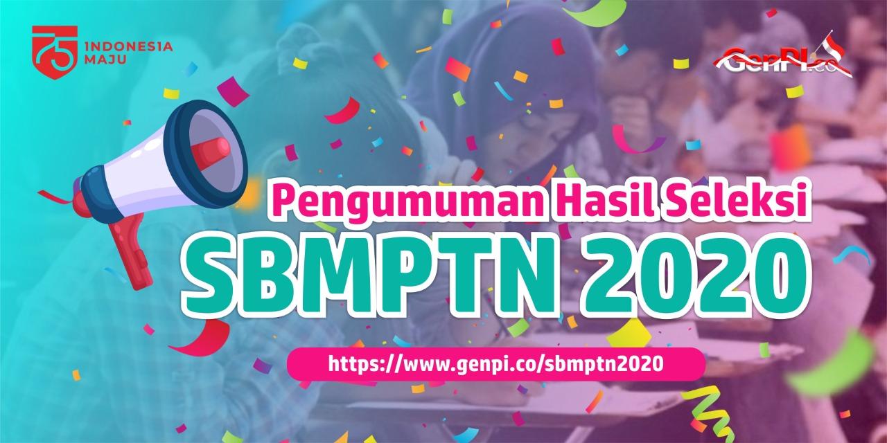 Pengumuman Hasil SBMPTN 2020