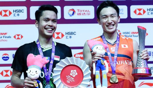 BWF World Tour Finals 2019: Aduh, Anthony Ginting - GenPI.co