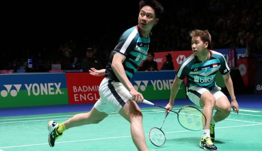 Hasil Drawing Thailand Open 2021: Langkah Mulus Kevin/Marcus - GenPI.co