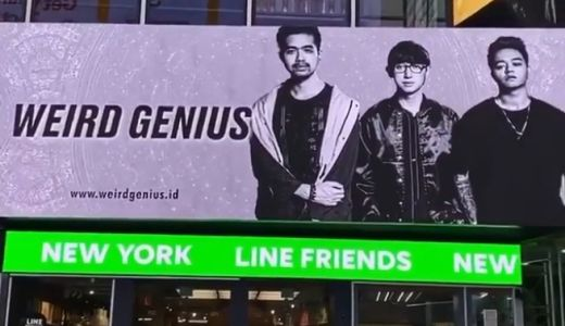 Gokil! Poster Weird Genius Mejeng di Times Square New York - GenPI.co