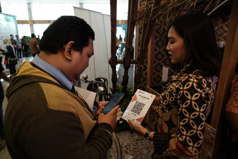 Pameran Fintech Innovation for Inclusion (Sumber foto: GenPI.co/ Sapta Priwarsana)