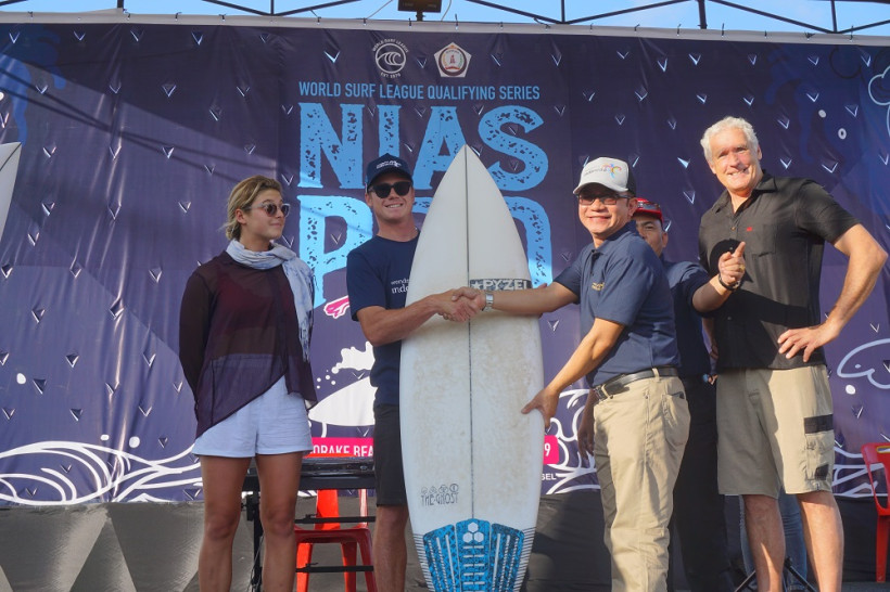 Pembukaan Nias Pro International Surfing 2019. (Foto: Dok. Kemenpar)