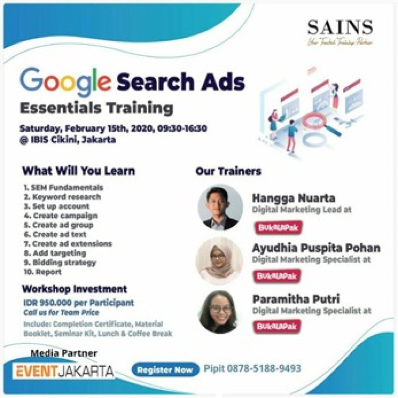 Google Search Ads Essentials Training