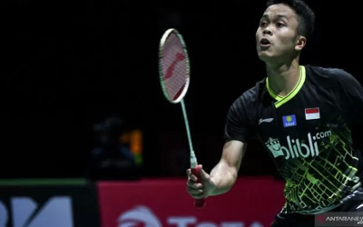 French Open 2019: Anthony Ginting Tak Berdaya di Depan Chen Long
