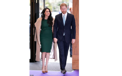 Meghan Markle Fashion Icon 2019, Busana Hijaunya Terfavorit