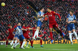 Liverpool vs Brighton & Hove Albion 2-1, Rekor Makin Panjang | Genpi.co - Palform No 1 Pariwisata Indonesia