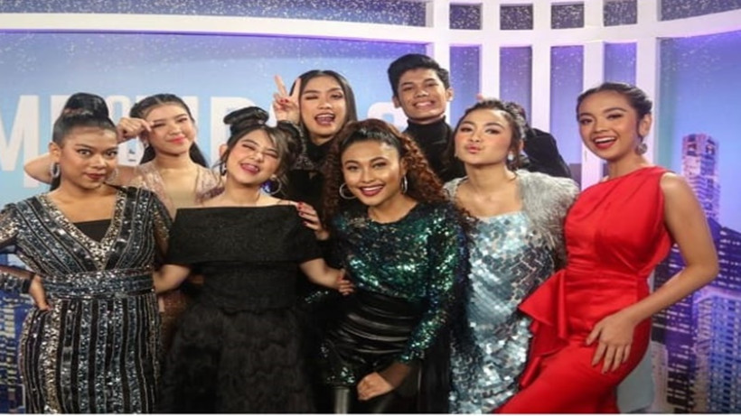 Kontestan Indonesian Idol saat Top 8 (foto: IG @indonesianidolid)