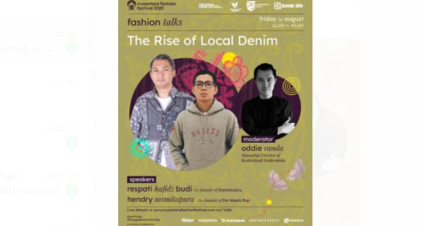 Talk Show NUFF 2020  The Rise of Denim, Bakal Seru Nih!