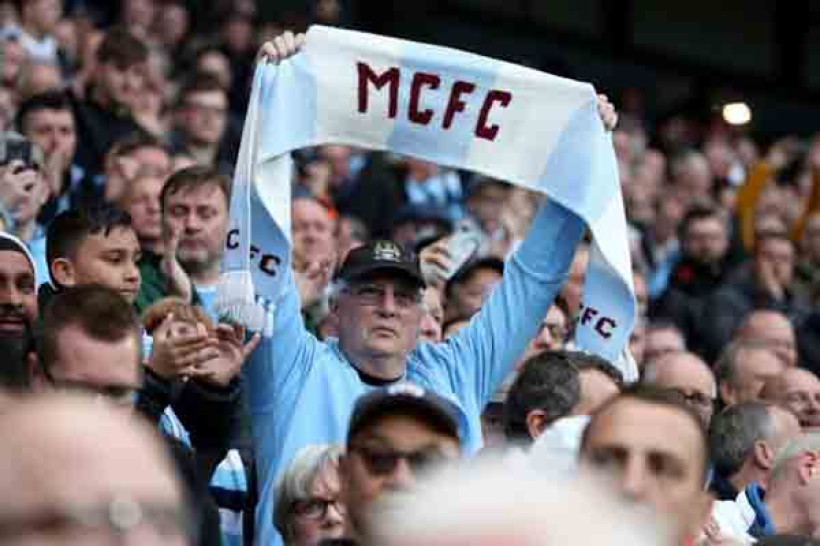 Suporter Manchester City. Foto: PA