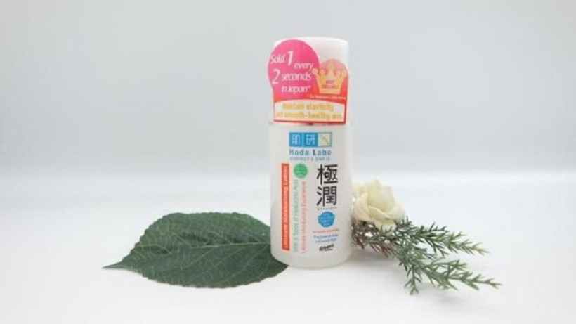 Hada Labo Gokujyun Ultimate Moisturizing Lotion (Foto : beautynesia)