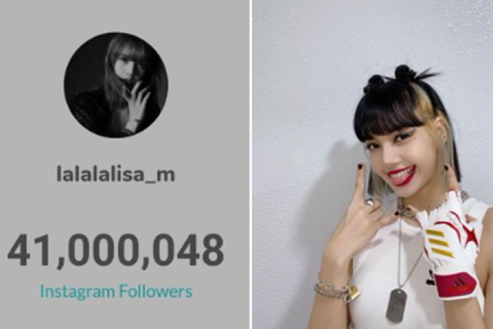 Lisa Blackpink Toreh Sejarah, Raih 40 Juta Follower di Instagram