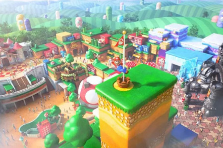 Mau ke Super Nintendo World? Via Virtual Saja