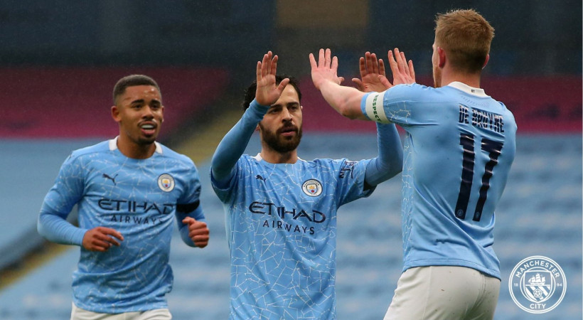 Live Streaming Liga Inggris: Manchester City vs Wolves. (foto: twitter.com/ManCity)