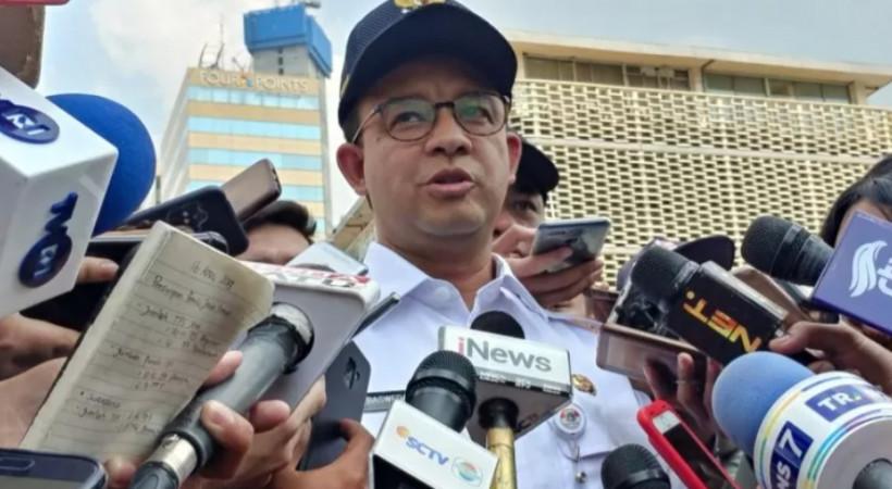 Gubernur DKI Jakarta Anies Baswedan. (ANTARA News/ Anom Prihantoro)