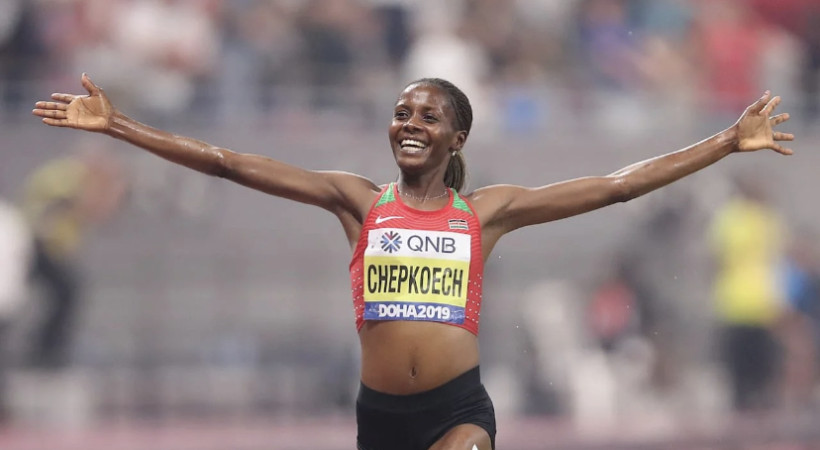 Beatrice Chepkoech. Foto: olympic channel