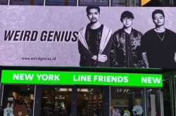 Gokil! Poster Weird Genius Mejeng di Times Square New York | Genpi.co - Palform No 1 Pariwisata Indonesia