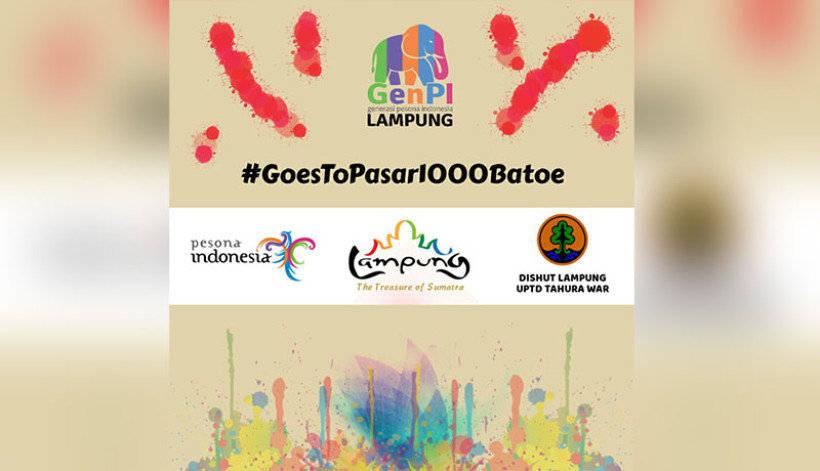 Flyer Launching Pasar 1000 Batoe