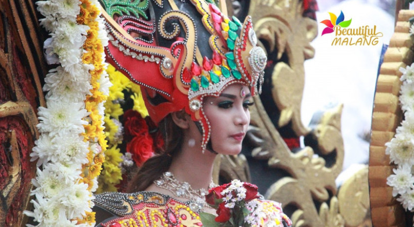Malang Flower Carnival. (Foto: Youtube)