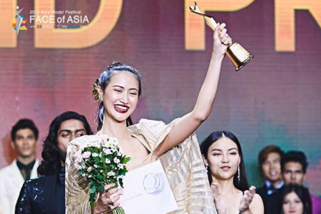 Model Asal Surabaya Juarai Face of Asia 2019
