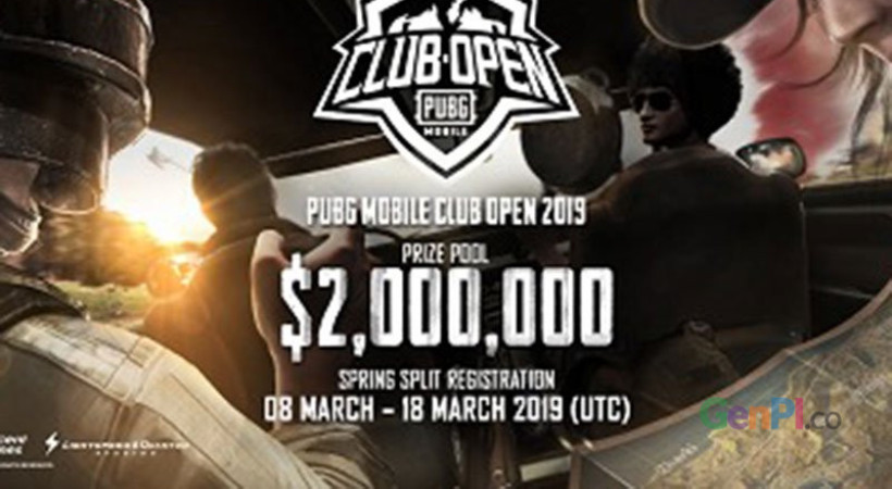 Poster kompetisi PUBG MOBILE CLub Open 2019. (ANTARA News/PUGB Inc)