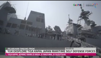 Eksplore 3 Kapal Japan Maritime Self Defense Forces