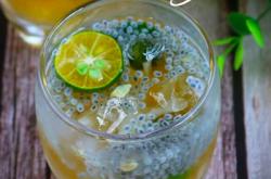 Minuman Segar untuk Buka Puasa, Ini Resep Es Jeruk Kunci Selasih   Genpi.co - Palform No 1 Pariwisata Indonesia