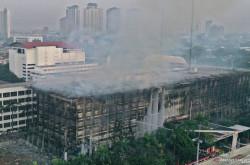 Gedung Kejaksaan Agung Terbakar, Dokumen Perkara Dipastikan Aman   Genpi.co - Palform No 1 Pariwisata Indonesia