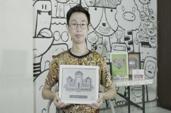 Lulus Cumlaude, Pemuda ini Malah Sukses Jualan Doodle Art | Genpi.co - Palform No 1 Pariwisata Indonesia