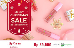 Christmas Deal: Harga Khusus Lip Cream Sarita Beauty di Tokopedia   Genpi.co - Palform No 1 Pariwisata Indonesia