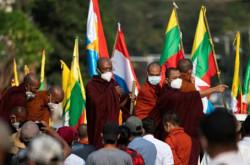Protes Kudeta Militer Myanmar Bikin Meriang, Aktivis Dibuat Lemas | Genpi.co - Palform No 1 Pariwisata Indonesia