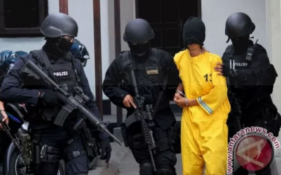12 Orang Terduga Pelaku Terorisme Merauke Ditetapkan Tersangka