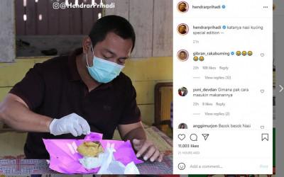 Wali Kota Semarang Bikin Parodi BTS Meal