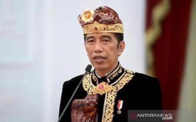 Buka PKB ke-43, Jokowi: Meskipun Pandemi, Kreativitas Harus Jalan