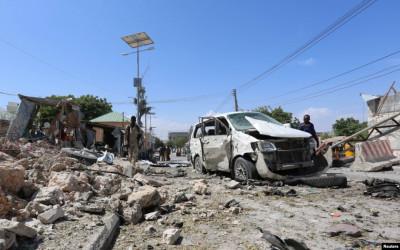 Gempar! Markas Tentara Somalia Diguncang Serangan Bom Bunuh Diri