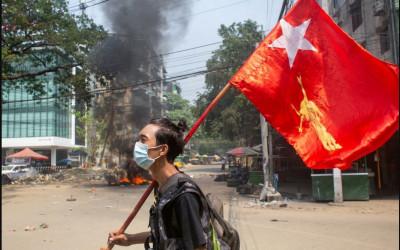 Waktu Menyempit, Perang Saudara Besar Bayangi Myanmar