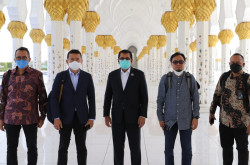 Waskita Kontraktor Masjid Raya Sheikh Zayed Solo, Begini Faktanya   Genpi.co - Palform No 1 Pariwisata Indonesia