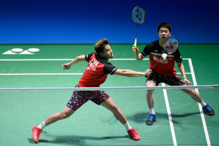 Kevin Sanjaya/Marcus Gideon Torehkan Sejarah Baru di Olimpiade
