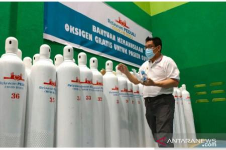 Bantu Warga, Relawan Buka Layanan Pinjam Oksigen Gratis