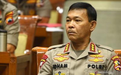 Emban Jabatan Kapolri, Idham Azis: Kerja, Kerja, Kerja!