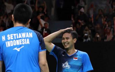 Indonesia Masters 2020: Daddies Sempat Oh No, Akhirnya Wow