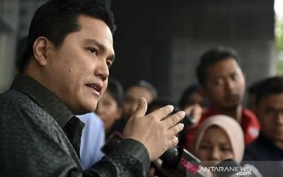 Erick Thohir Murka, Sukarelawan Jokowi: Visioner, Tegas!