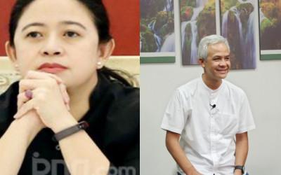 Ganjar Pranowo Digdaya, Puan Melempem, Megawati pun Bimbang