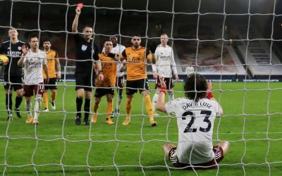 Wolves vs Arsenal: David Luiz Biang Kerok Kekalahan The Gunners