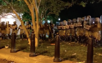 Gedung Putih Diserang Massa, Puluhan Secret Service Ampun-ampunan