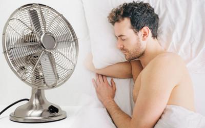 Tidur dengan Kipas Angin Menyala Picu 4 Penyakit Mematikan