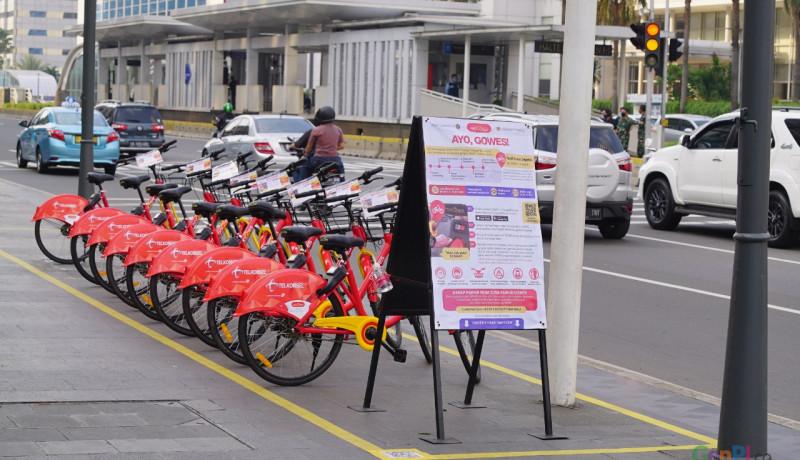 Bike Sharing Jakarta. Foto: Asep/GenPI.co