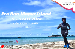 Lestarikan Lingkungan Via Eco Run Mapur Islands 2018 | Genpi.co - Palform No 1 Pariwisata Indonesia