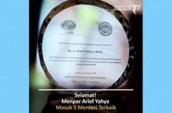 Dinobatkan sebagai Menteri Terbaik, Menpar Posting ini | Genpi.co - Palform No 1 Pariwisata Indonesia