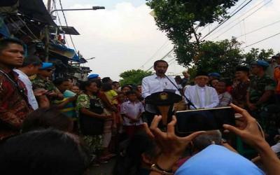 Ini Alasan Jokowi Pilih Kampung Deret Lokasi Deklarasi Kemenangan