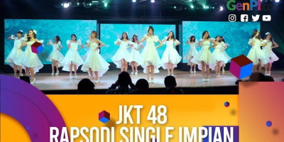 Rapsodi, Single Perdana JKT48 Serba Indonesia